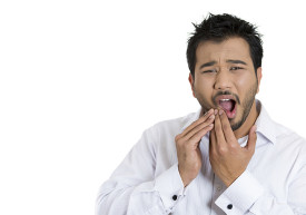 Man With Gum Pain