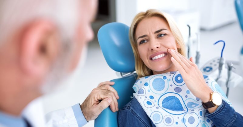 Oral surgery fear of dental extraction